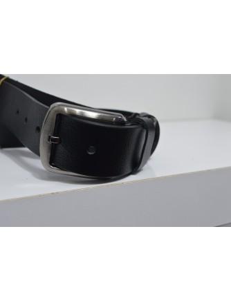 35mm Siyah Deri Kemer